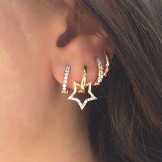 Circling Back to Hoop Earrings!hoop earrings are ready to swing back into fashion! #kismetbymilka #white #diamond #hoop #earrings #cool #chic #minimal #modern #fashion #finejewelry #love #gold #lovegold #blackdiamond #lovediamond #urban #pinkgold #creative #design #trend #style #stylish #jewelry #lookoftheday #styleoftheday #today #earring #saturday #weekend
