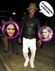 Jamie Foxx Flirting With Lily James: Katie Holmes Jealous, Lily Uncomfortable?
