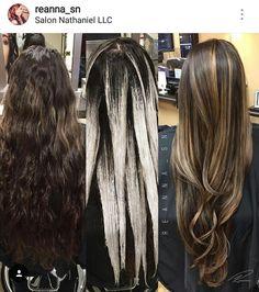 More balayage stuff. Beautiful hair. Cabello con luces. Lights. Multitones.