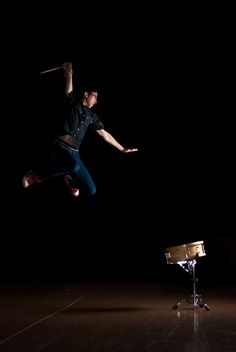 snare :: I should've done this for senior pictures!