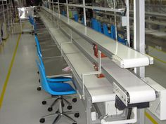 Plastic Belt Conveyors - Modern Automation Manufactory  http://www.zm-automation.com/screw-conveyor-spiral-conveyor/