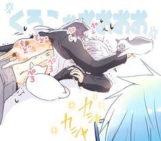 Đọc Truyện Kuroko no basket doujinshi - MayuAka - Violeta - Wattpad Anime Chibi, Anime Art, Video Game Swords, Mayuzumi Chihiro, Gakuen Babysitters, Akakuro, Generation Of Miracles, Gekkan Shoujo Nozaki Kun, Kuroko Tetsuya