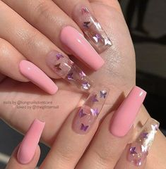Nail Art Design 40 Stylish Fun Design - Inspired Beauty Nail Art Design 40 Stylish Fun Design - Inspired Beauty,make up n nails Nail Art Design - Inspired Beauty art designs ideas nail designs nails nails Summer Acrylic Nails, Best Acrylic Nails, Nails Acrylic Coffin Glitter, Baby Pink Nails Acrylic, Long Square Acrylic Nails, Long Square Nails, Baby Blue Nails, Nail Summer, Pink Coffin