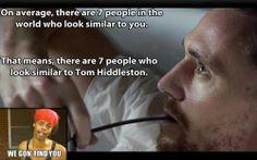 Tom Hiddleston or Benedict Cumberbatch lol Ben Barnes, Lee Pace, Orlando Bloom, Keanu Reeves, Benedict Cumberbatch, Tom Hiddleston Funny, Raining Men, Geek Out, The Villain