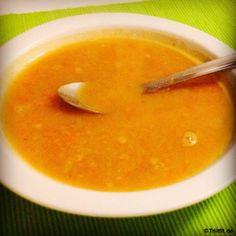 Warum nicht mal ne Suppe? Weil sie kein Eiweiß haben? #Rezept