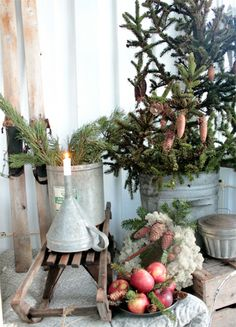 Christmas via: Vintage House