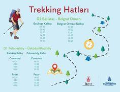İstanbul İETT trekking hatları
