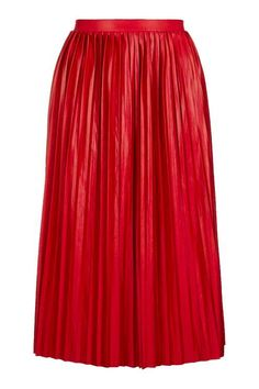Jersey Pleated Midi Skirt - Skirts - Clothing - Topshop Europe