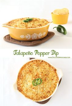 Jalapeno Popper Dip is a spicy, cheesy dip with jalapenos and bacon that resembles jalapeno poppers without the hassle of stuffing.