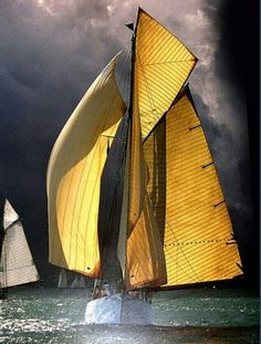 Boat Names Discover Regata Red Velvet Voyage Sailing the earths waters Inspirations and voyage dreams. Sail boats in the blue oceans cloud filled skies the beauty of planet earth! Yacht Boat, Sail Away, Set Sail, Wooden Boats, Tall Ships, Water Crafts, Mellow Yellow, Mustard Yellow, Belle Photo