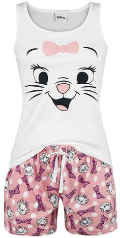 Europe's for rock & metal band merchandise, movie, TV & gaming merch & alternative fashion. Pijama Disney, Disney Pajamas, Cute Pjs, Cute Pajamas, Lazy Day Outfits, Cute Outfits, Disney Fun Facts, Marie Aristocats, Cute Sleepwear