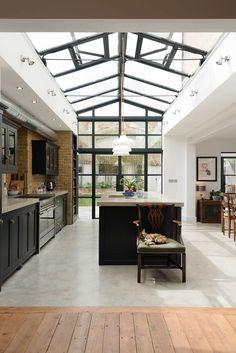 Кухня, залитая светом | Пуфик - блог о дизайне интерьера