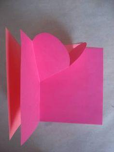 Easy pop up heart card