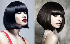 Classic cut Cleopatra bob