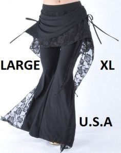USA STORE FAST SHIP Large & XL Belly Dance Tribal  Melodia Yoga Pants Plus Size | Clothing, Shoes & Accessories, Dancewear, Adult Dancewear | eBay!