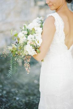 Elegant Old French Abbey Wedding Inspiration: http://www.stylemepretty.com/destination-weddings/2015/10/08/elegant-old-french-abbey-wedding-inspiration/ | Photography: Anna Tereshina - http://www.tereshina.com/