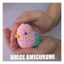 Souvenir Pajarito By Dulce Amigurumi