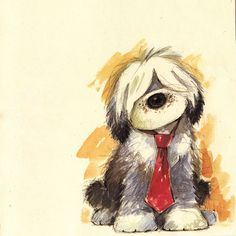 old english sheepdog art work - Bing images Happy Birthday Video, Best Birthday Quotes, Happy Birthday Pictures, Happy Birthday Messages, Birthday Greetings, English Dogs, Old English Sheepdog, Happpy Birthday, 17 Birthday