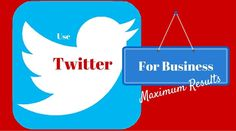 Do you want to have more leads from Twitter in your business?  I give you 3 ways I get leads each and every day on Twitter?  http://thehashtaghunter.com/twitter-for-business/  I love twitter because it allows you to be in front of people searching for an exact keyword. It is really cool!  Enjoy & Share if you get value!