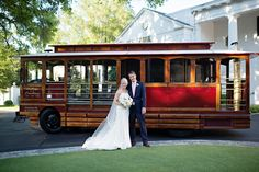 © The Beautiful Mess Photography, Rebecca and Will, Charlotte, NC, Trolleys of the Carolinas, Charlotte Country Club, Hall & Webb Event Design, Charlotte Wedding Planner