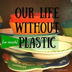 Our Life Without Plastic Review: Stainless steel tableware