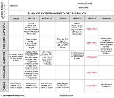 Programa de entrenamiento para Triatletas. 8ª semana - Blog Virgin Active