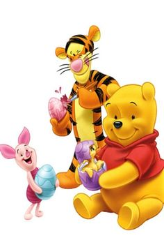Winnie the Pooh and Friends:)
