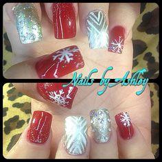 Acrylic nails by Ashley Ceja