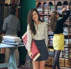Classy Girls Wear Pearls: Folding on the Job