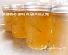 Mango Lime Jam Recipe