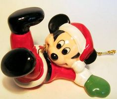 mickey mouse tiny tim toy | Mickey Mouse tumbling ornament