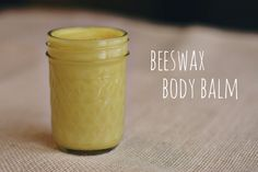the amor abode - sustainable is beautiful // a beeswax body balm recipe
