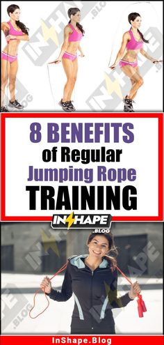 What are the health benefits of jumping rope? It's great cardio for heart health. It strengthens feet, improves coordination, and even stimulates the brain! Besides, you can burn 200-300 calories that may be in the way of your jump rope weight loss journey. If we talk about mental health, then what is jump rope good for? Stress and anxiety relief! While skipping, your brain produces serotonin (that brings joy and happiness). Visit inshape.blog to read a full list of jump rope workout benefits!