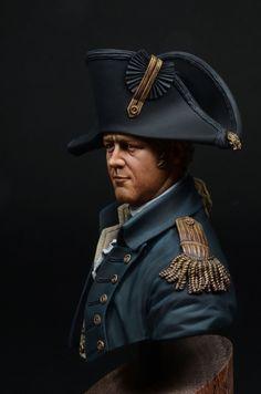 Royal Navy Captain 1806 (young miniatures. 1/10)