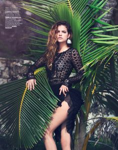 visual optimism; fashion editorials, shows, campaigns & more!: holiday diary: barbara palvin by david bellemere for marie claire italia may ...