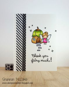 Stamp & Glitter: Thank You Fairy Much featuring Lawn Fawn