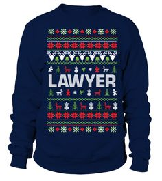 Lawyer Christmas Jumper  #bike #bicycle #shirt #tzl #gift #lovebike #cycling