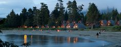 Tofino is a district of about 1,876 residents on the west coast of Vancouver Island, in British Columbia, Canada, located at the western terminus of Highway 4, on the tip of the Esowista Peninsula, at the southern edge of Clayoquot Sound. http://www.oceanvillageresort.com