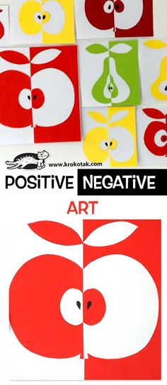 Positive / Negative Art - Best Picture For kids art projects anima Art 2nd Grade, Art Positif, Notan Art, Negative Space Art, Classe D'art, Art Activities, Children Activities, Art Children, Children Art Projects