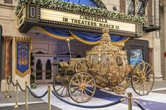 Cinderella's Golden Carriage Arrives at Hollywood Studios