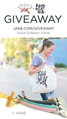 Enter the Jane #Sweepstakes for a chance to win a $200 Target Gift Card & more! Ends 2/14.
