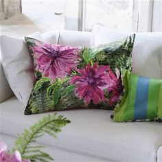 Designers Guild Samira Fuchsia Cushion