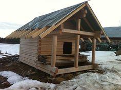 HAKAHIRSI - ammattitaitoista hirsirakentamista Cabin, House Styles, Home Decor, Decoration Home, Room Decor, Cabins, Cottage, Home Interior Design, Wooden Houses