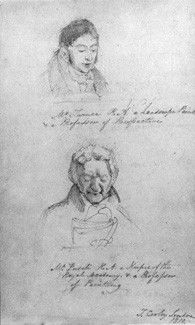 Thomas Cooley, J.W Turner; Kindred Soul, Purple Art, National Portrait Gallery, Pencil, Sketches, Gentleman, Paintings, London, Paper