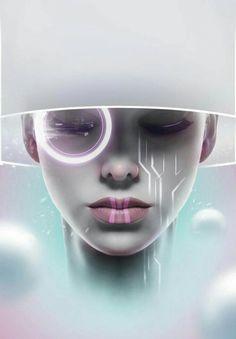 All things cyberpunk; hi tech, low life. Cyberpunk 2077, Cyberpunk Girl, Futuristic Technology, Futuristic Design, Technology Gadgets, Technology Design, Arte Digital Fantasy, Digital Art, Presets Photoshop