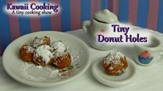 Tiny Donuts - Kawaii Cooking - a tiny cooking show