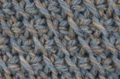 Tunisian Diagonal Stitch