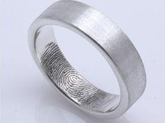 Her fingerprint, his ring.