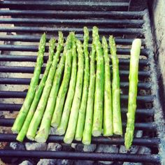 Asparagus on BBQ: does it get any better?