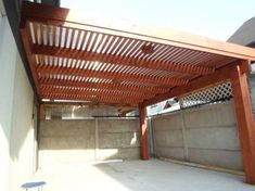 Pergola To House Attachment Product Pergola Carport, Metal Pergola, Deck With Pergola, Covered Pergola, Pergola Shade, Patio Roof, Pergola Patio, Backyard, Metal Roof
